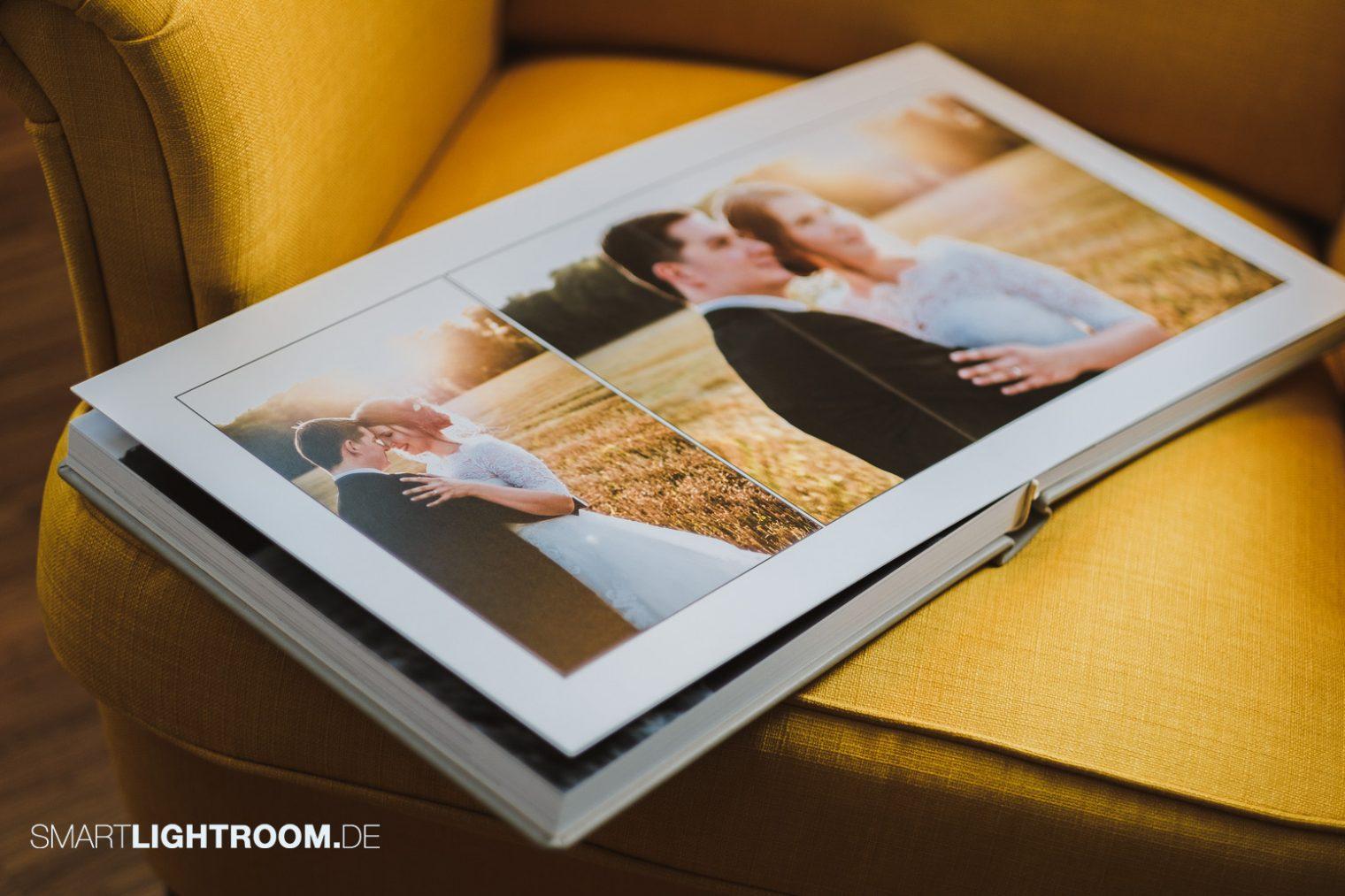 Albumdesign Prozess optimieren Lightroom